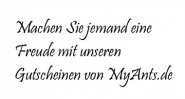 Gutscheine von MyAnts.de